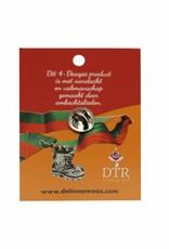 DTR Badge  shoe gladiolus 200 km
