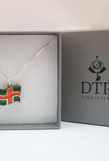 DTR Vierdaagse vlag hanger met ketting
