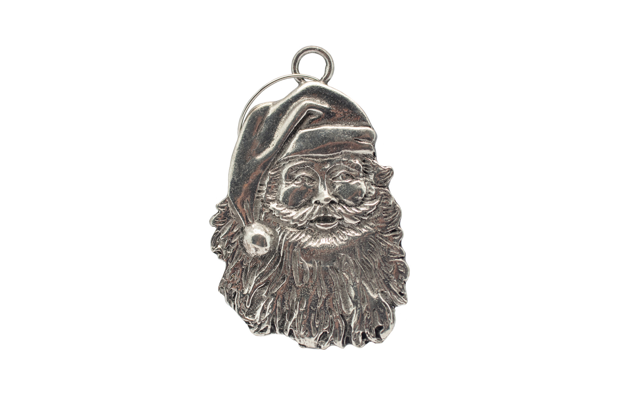 DTR Hanging Christmas ornament Santa Claus Smiling