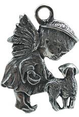 DTR Kersthanger engeltje met lam