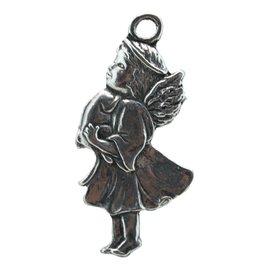 DTR Kersthanger engeltje met poes