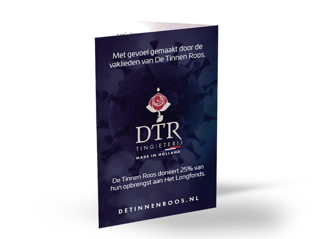 DTR Vuist tegen Corona (v.a 25 euro geen verzendkosten)