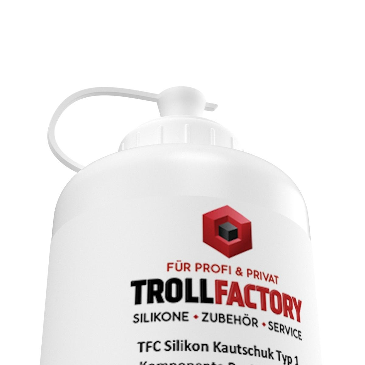 Troll Factory TFC Troll Factory Silicone Rubber Type 1 Afvorm silicone zacht 1000g