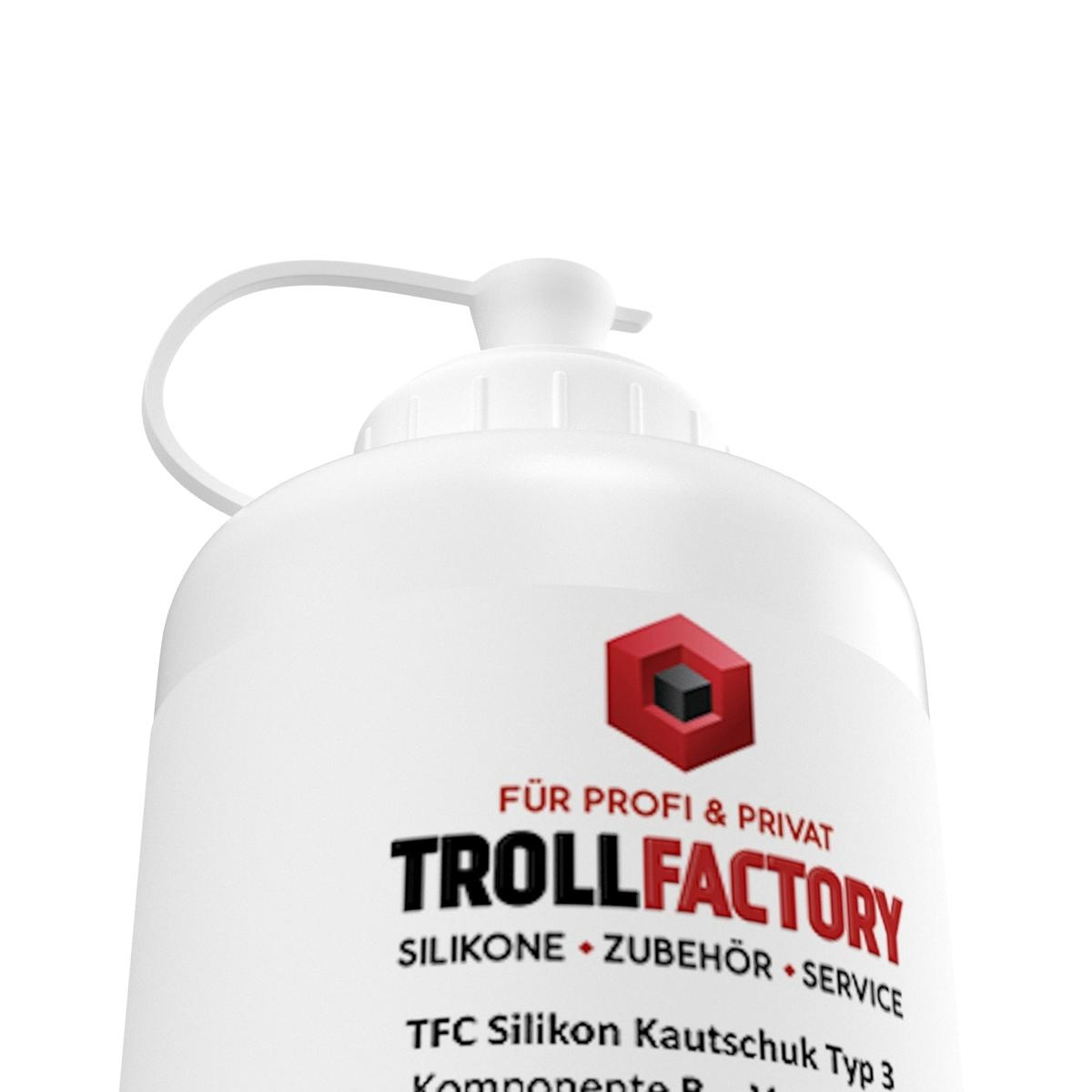 Troll Factory TFC Troll Factory Silicone Rubber Type 3 HB Tin hittebestendig 500g