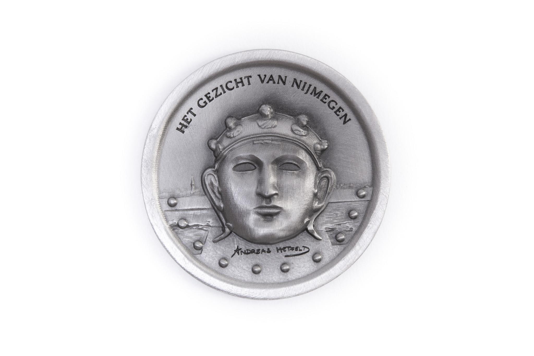 DTR Het Gezicht Van Nijmegen - Munt