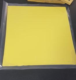 DTR Gele Siliconen Rubber Plaat
