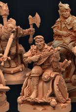 Strata Miniatures Dungeons and Diversity: Half Elf Wizard