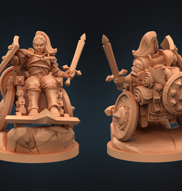 Strata Miniatures Dungeons and Diversity: Human Fighter