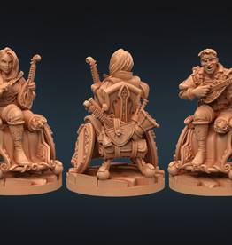 Strata Miniatures Dungeons and Diversity: Human Bard
