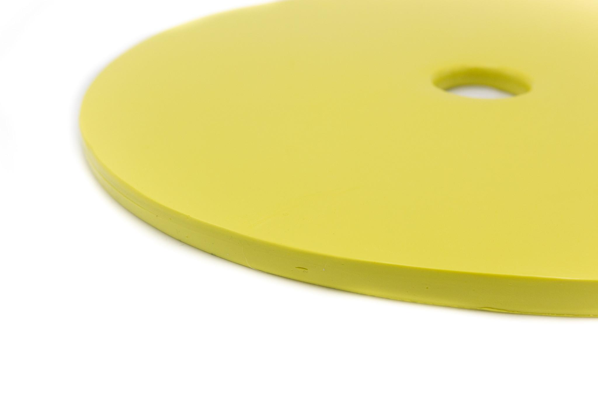 DTR Gele Silicone - Nicem  90°  55 sh 1+1 schijf