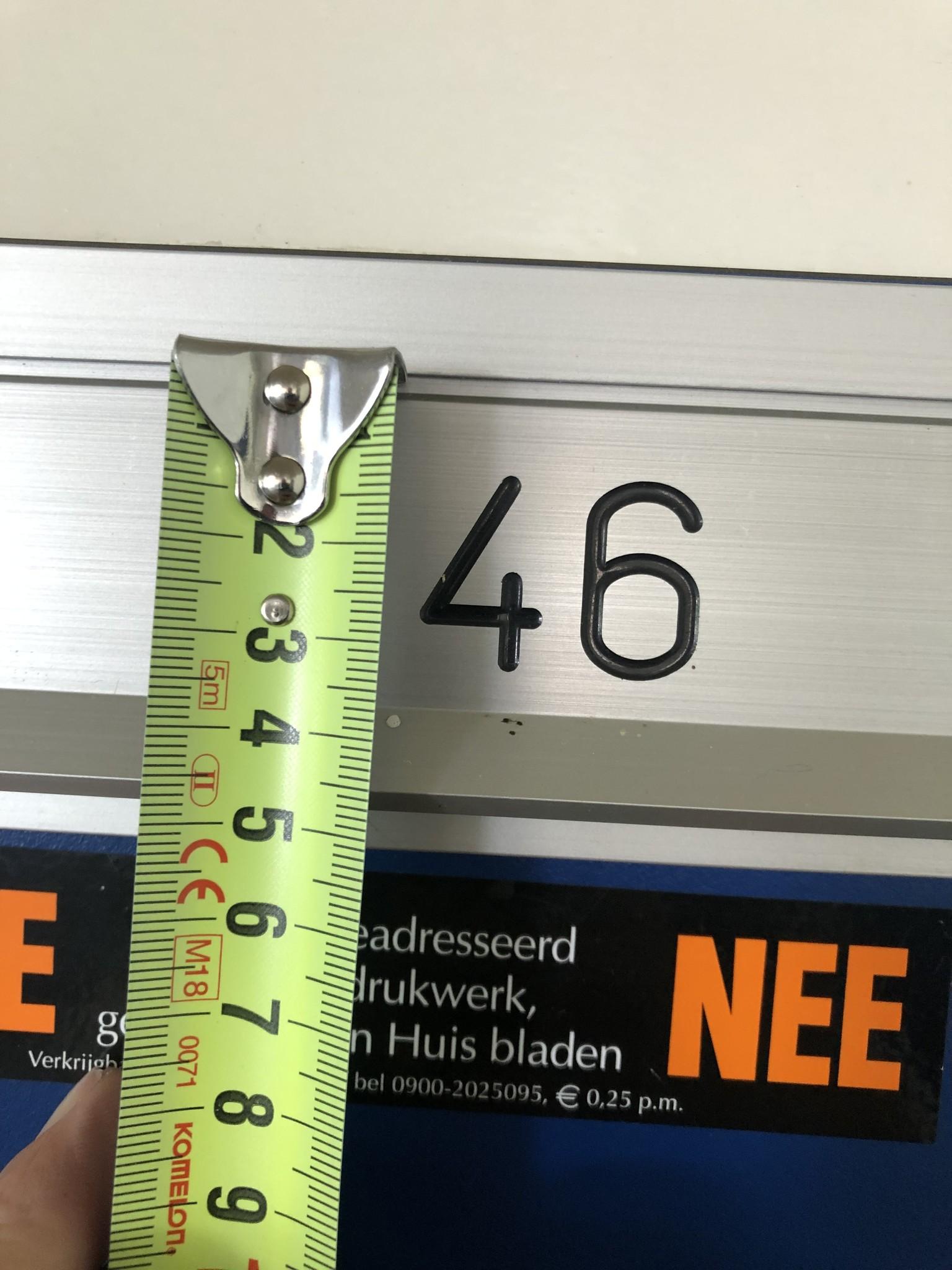 VvE Loplein Arnhem   Nummerplaatjes