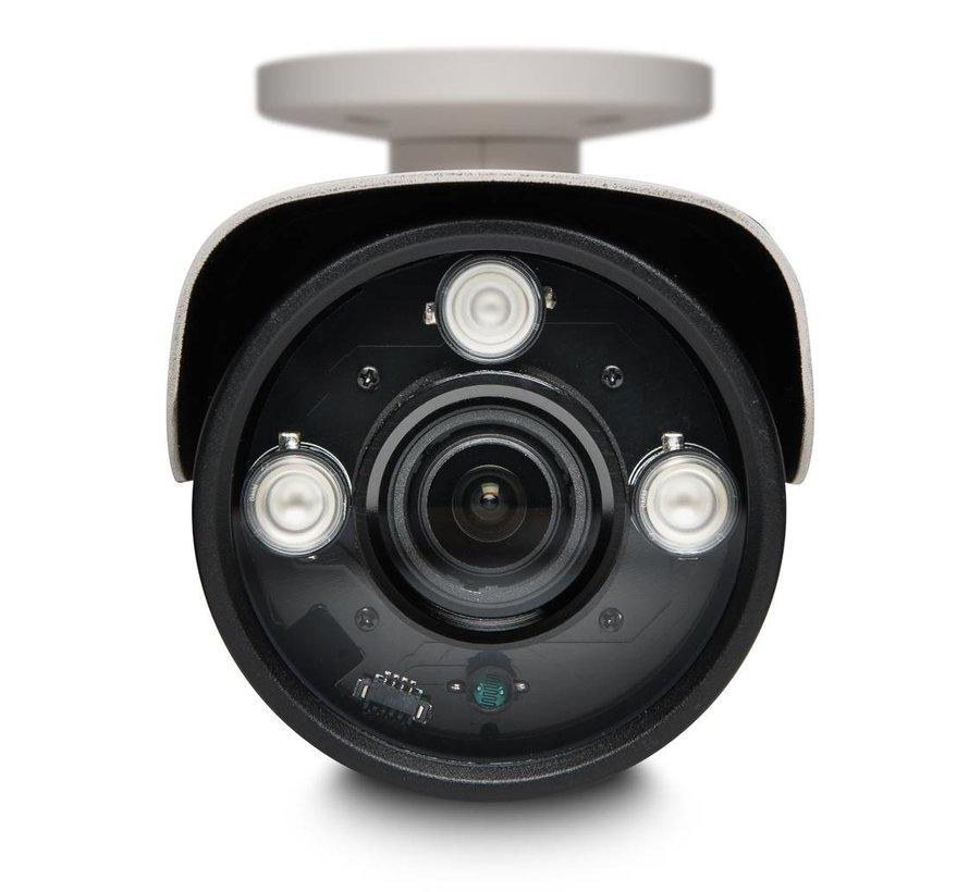 Beveiligingscamera set Pro Bullet met Sony 5MP Cmos 4x zoom
