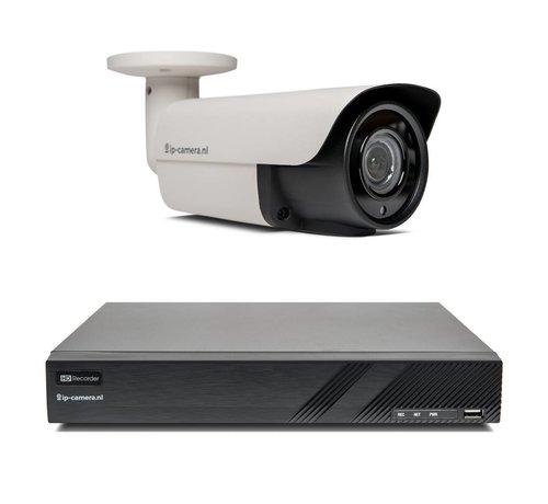Beveiligingscamera set Premium Bullet Sony 2MP Full Color Starlight Cmos