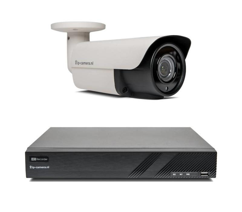 1x Premium Bullet Beveiligingscamera set met Sony 2MP Starlight Cmos