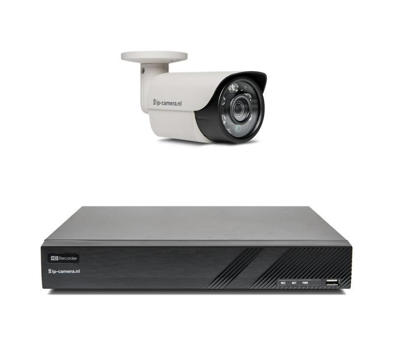 Sony Basic Bullet - 2MP  Beveiligingscamera Set met PoE