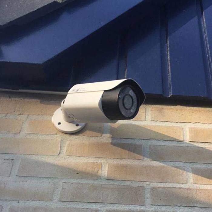 Beveiligingscamera installatie in Gieten (Drenthe)