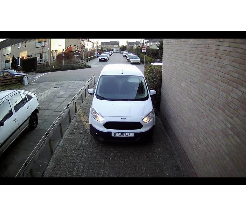 1x Basic Dome Beveiligingscamera set draadloos met Sony 2MP Cmos