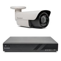 1x Premium Bullet Beveiligingscamera set draadloos met Sony 2MP Starlight Cmos