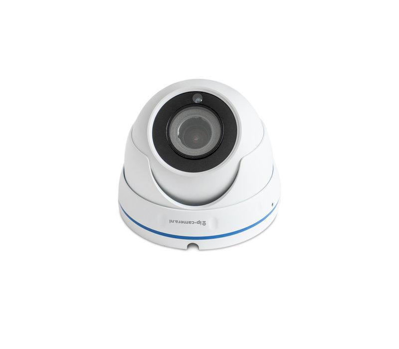 Beveiligingscamera set Pro dome met Sony 5MP Cmos 4x zoom