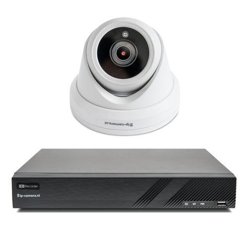 1x Premium Dome Beveiligingscamera set met Sony 2MP Starlight Cmos