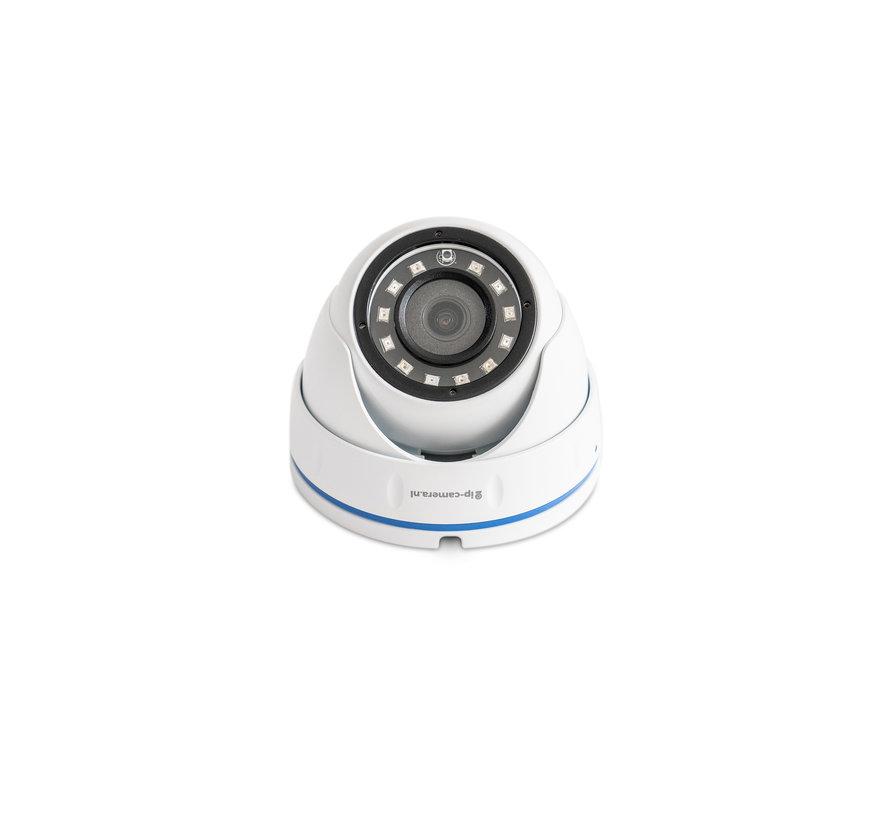 Beveiligingscamera set Basic Dome met Sony 2MP Cmos