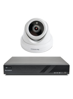 Draadloze camera set Premium dome met Sony 2MP full color starlight Cmos