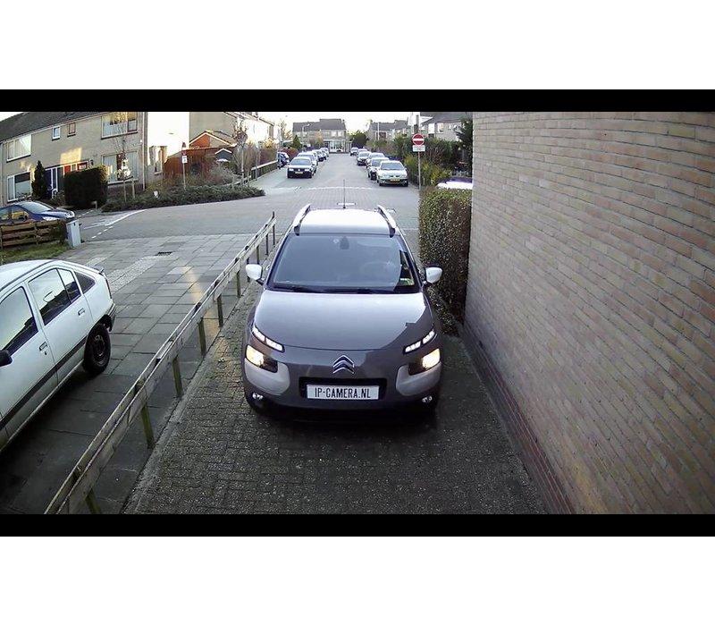 1x Premium Dome Beveiligingscamera set zwart draadloos met Sony 2MP Starlight Cmos