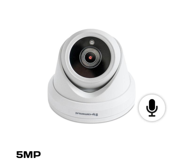 Draadloze camera set Pro dome Sony 5MP full color starlight Cmos en microfoon