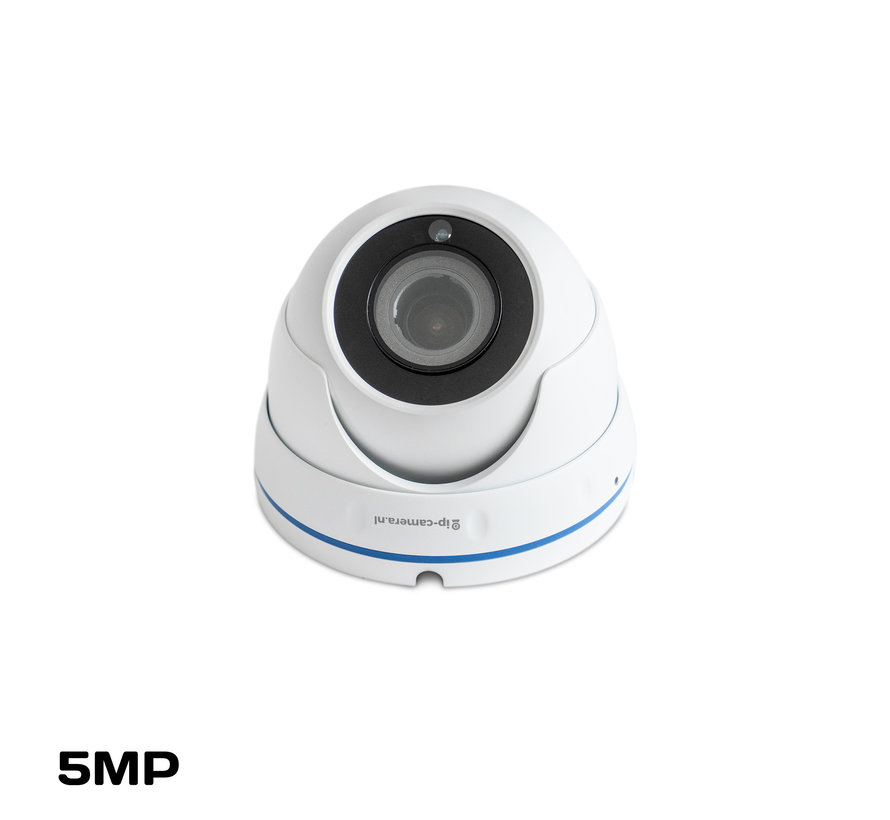 Draadloze camera set Pro dome met Sony 5MP Cmos 4x zoom