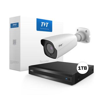 TVT4000 Starlight 4MP Bullet Bewakingscamera set