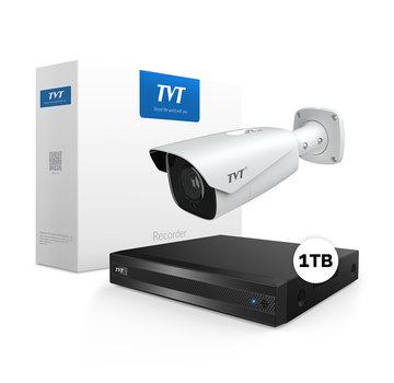 TVT ANPR kentekenregistratie bewakingscamera set
