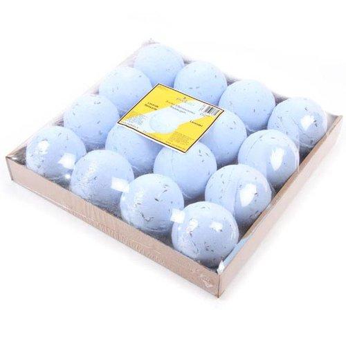 Novus Fumus Set van 16 badbruisballen Lavendel