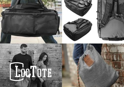 Nomatic and Loctote Backpacks and bags