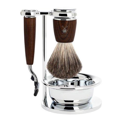 Mühle 4 piece shaving set (Rytmo) - Gillette Mach3®
