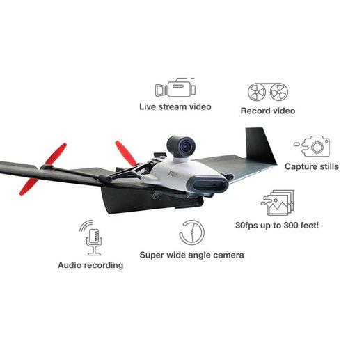 PowerUp FPV. Papieren vliegtuig met Wifi camera