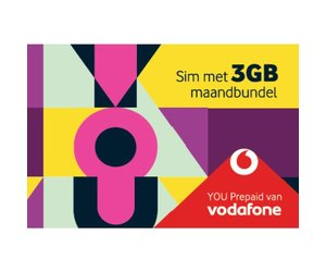 Vodafone You Prepaid Sim 3 Gb Maandbundel