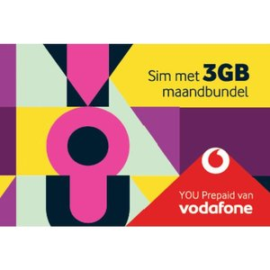 Vodafone You Prepaid Sim 3 Gb Maandbundel