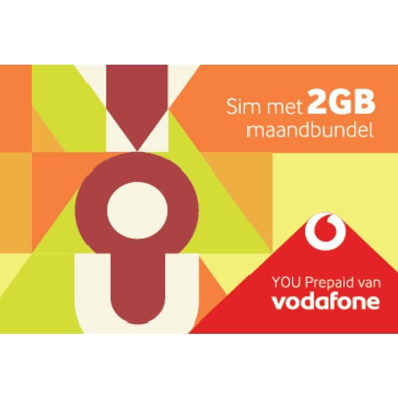 Vodafone You Prepaid Sim 2 Gb Maandbundel