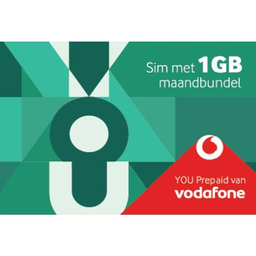 Vodafone You Prepaid Sim 1 Gb Maandbundel