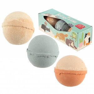 Novus Fumus Feline Fine Kat Bathing Balls - sugary