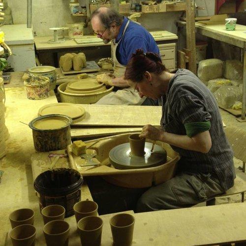 Keramik von Niek Hoogland und Pim van Huisseling