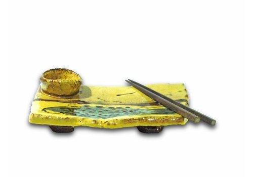Pottenbakkerij Hoogland Sushi plate - 8