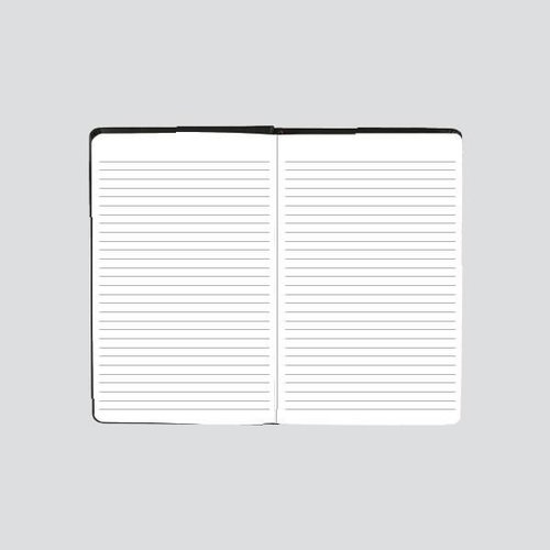 NOMATIC Notebook with elastic and pen storage.
