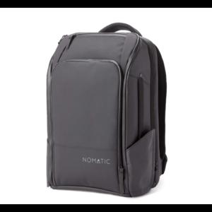 NOMATIC Rugzak / Reistas met kleding compartiment en laptop vak - 20 tot 30 liter - Zwart