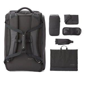NOMATIC Rugzak / Reistas met laptopvak, schoenen compartiment en diverse accessoires. Handbagage formaat - 40 Liter - Zwart