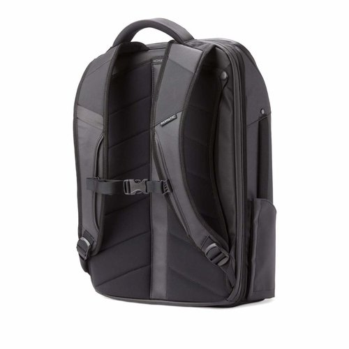 NOMATIC Backpack / Travel bag with clothing compartment and laptop compartment - 20 to 30 liters - Black