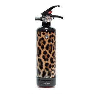 Fire Art Leopard  fire extinguisher