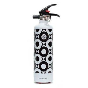 Fire Art Black and White brandblusser