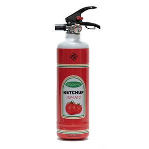 Fire Art Ketchup Feuerlöscher