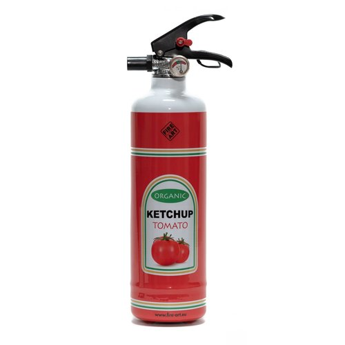 Fire Art Ketchup fire extinguisher